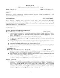 Harvard Mba Resume Template Mba Resume Template Resume Examples