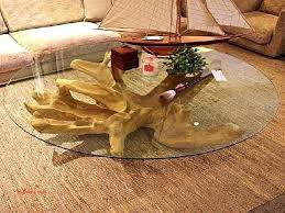 tree trunk table top tree trunk glass dining table best of coffee table tree stump trio
