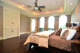 tray ceiling bedroom bedroom designed with neutral wall colors and hardwood floors also recessed tray ceiling lights painting tray ceiling master bedroom