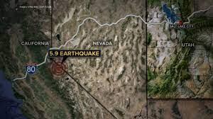 5.9 magnitude earthquake near ...