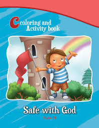 psalm 91 coloring and activity book for kids
