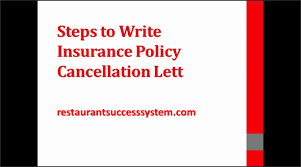 Ideas Collection How To Write A Cancellation Letter Health Insurance