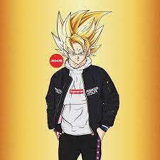 Unknown more wallpapers posted by supreme outlaw. Drip Goku Wallpapers Wallpaper Cave