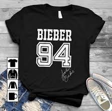 Justin Bieber T Shirt Design Amazon Com Justin Bieber Bieber 94 T Shirt Long Sleeve