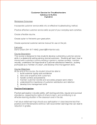 Customer Service Skills Resume Resume Templates