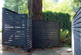 Blue Fence Designs Wooden Garden Fence Old Brown Decorating Stunning Panels