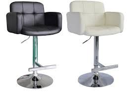 White Leather Kitchen Chairs Bar Stools Fabulous Tall Kitchen Chairs And Classic Black And