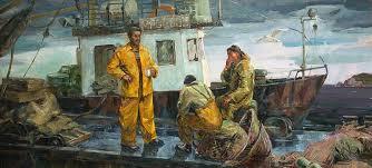 Галерея Арт Владивосток › Дальневосточная Государственная  Топчий И Л Дипломная работа Перед выходом в море