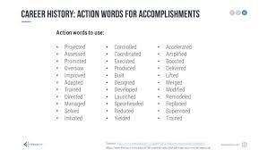 resume power words power resumes power resume resume action words