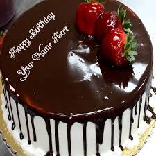 happy birthday chocolate cake with name. Plain Birthday Inside Happy Birthday Chocolate Cake With Name C