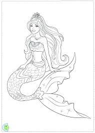 Mermaid Coloring Pages To Print Cute Mermaid Coloring Pages Free