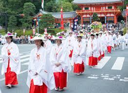 「祇園祭の花傘巡行は 猛暑で中止!?」の画像検索結果