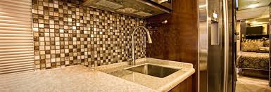 Tile Backsplash Install Extraordinary RV Tile Backsplash Installation Motorhome Tile Backsplash