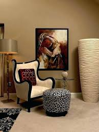 leopard print dining chairs room animal chair trendy carpeted bedroom photo in upholstered di