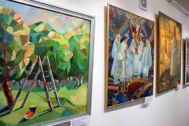 У галереї Ілько триває захист дипломних робіт студентів художників