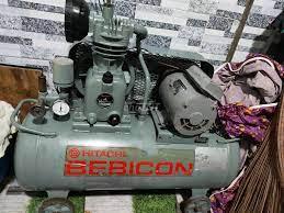 Bán máy bơm hơi Hitachi 50 lít 1 ngựa hàng nguyên - 87673933