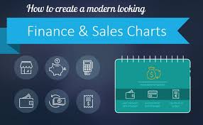 How To Make A Creative Chart How To Create A Modern Looking Sales Chart In Powerpoint