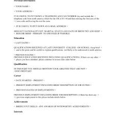 Cv Sample Harvard Choice Image Certificate Design And Template