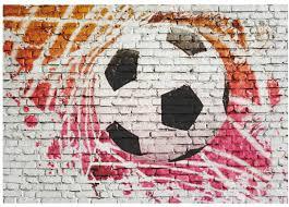 Bolcom Fotobehang Straat Voetbal