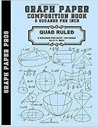 Graph Paper 6 Squares Per Inch Graph Paper Quad Rule 6x6
