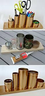 diy office decor. Stunning DIY Office Decorating Ideas Diy Dorm Room Tin Cans And On Pinterest Decor