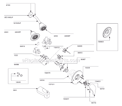 moen l2353 tub and shower faucet parts page a to close the dots to preview your part