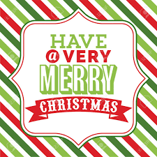 A Vector Illustration Of Christmas Word Art With Have A Very