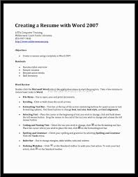 Resume Template How To Make A On Word Alexa Within Making In 79