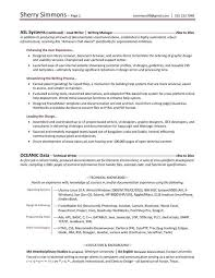 Science Resume Examples From Professional Resume Writing Good