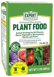 purpose water soluble plant food