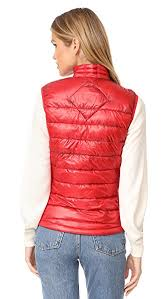 The Most Popular Canada Goose Hybridge Lite Vest Red For Women Outlet