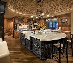 angled kitchen island ideas. Stupendous-Brick-Veneer-decorating-ideas-for-Kitchen-Mediterranean-design- Ideas-with-Stupendous-angled-wood-floor Angled Kitchen Island Ideas I