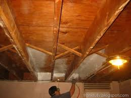 unfinished basement ceiling. Beautiful Unfinished Beginning To Paint The Basement Ceiling With Wagner Sprayer For Unfinished Basement Ceiling H
