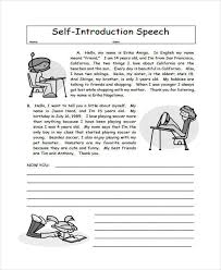 self introduction speech sample info self introduction speech sample 7 self introduction essay