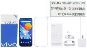 Tặng Loa Bluetooth 700k | Điện thoại Vivo Y72 5G (8GB/128GB) - Hàng chính  hãng 100% - Bảo hành 12 tháng - Freeship