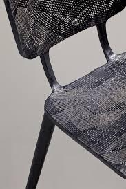 Carbon Fiber Chair Marleen Kaptein Employs Aerospace Fibre Placement Technique To