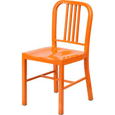 industrial style restaurant furniture. Industrial Style Modern Metal Chair In Orange Frame SC805O Restaurant Furniture