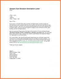 Solicitation Latter 8 Sample Of Solicitation Letter Corpus Beat