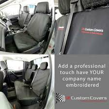 font rear seat covers inc embroidery