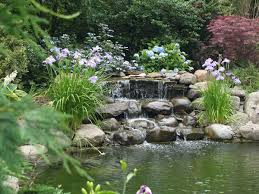 Lawn & Garden:Beautiful Japanese Garden Rock Feature And Koi Pond Design  Ideas Small Garden