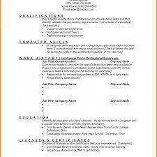 Summary Of Skills Resume Summary Of Qualifications Sample Resume