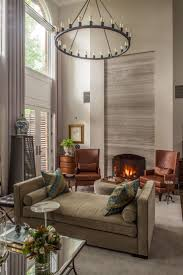 Designer Christopher Patrick called on furniture maker Kaleo Kala to create  a cozy, contemporary great room for a gentleman in Cleveland Park.