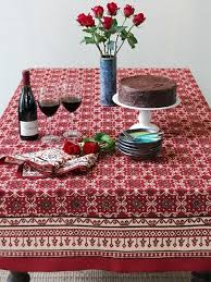 round cotton tablecloth red tablecloth holiday decorative cotton regarding table cloth remodel 6 cotton linen tablecloths whole