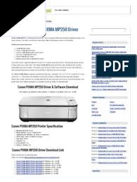 Canon reserves all relevant title, ownership and intellectual property rights in the content. Download Canon Pixma Mp250 Driver Free Printer Driver Downloadfree Printer Driver Download Installation Computer Programs Printer Computing