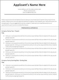 Free Printable Resume Templates Gorgeous Blank Resume Templates For Microsoft Word Ideas About Chronological