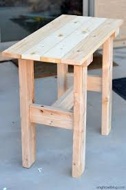 DIY Porch Table | anightowlblog.com. Super simple ...