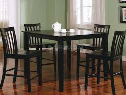 ashland black counter height dining table set 150231blk this lovely counter height dining set will be