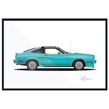 1977 Mustang II King Cobra – J7Artwork