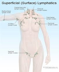 swollen lymph nodes locations causes
