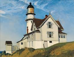 edward hopper lighthouse paintings bowdoin college museum of art edward hoppers maine